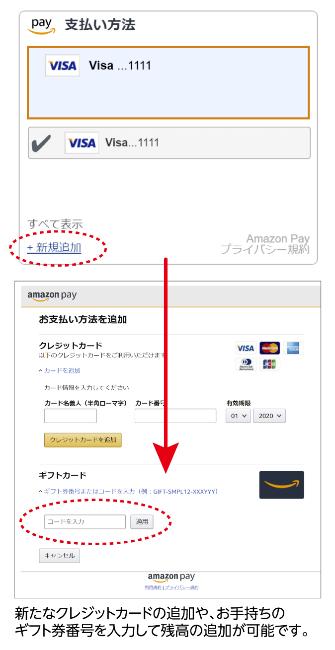 クレジットカードのみ登録イメージ
